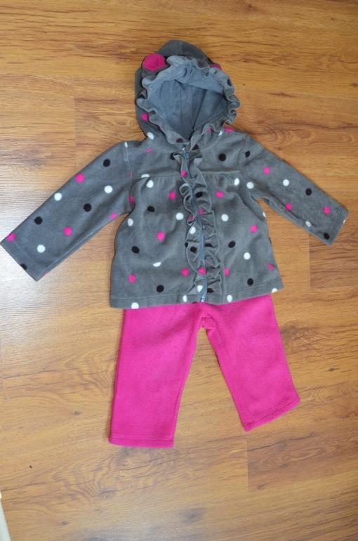 Флисовый Спортивный костюм Crazy8 на 73-80 см
