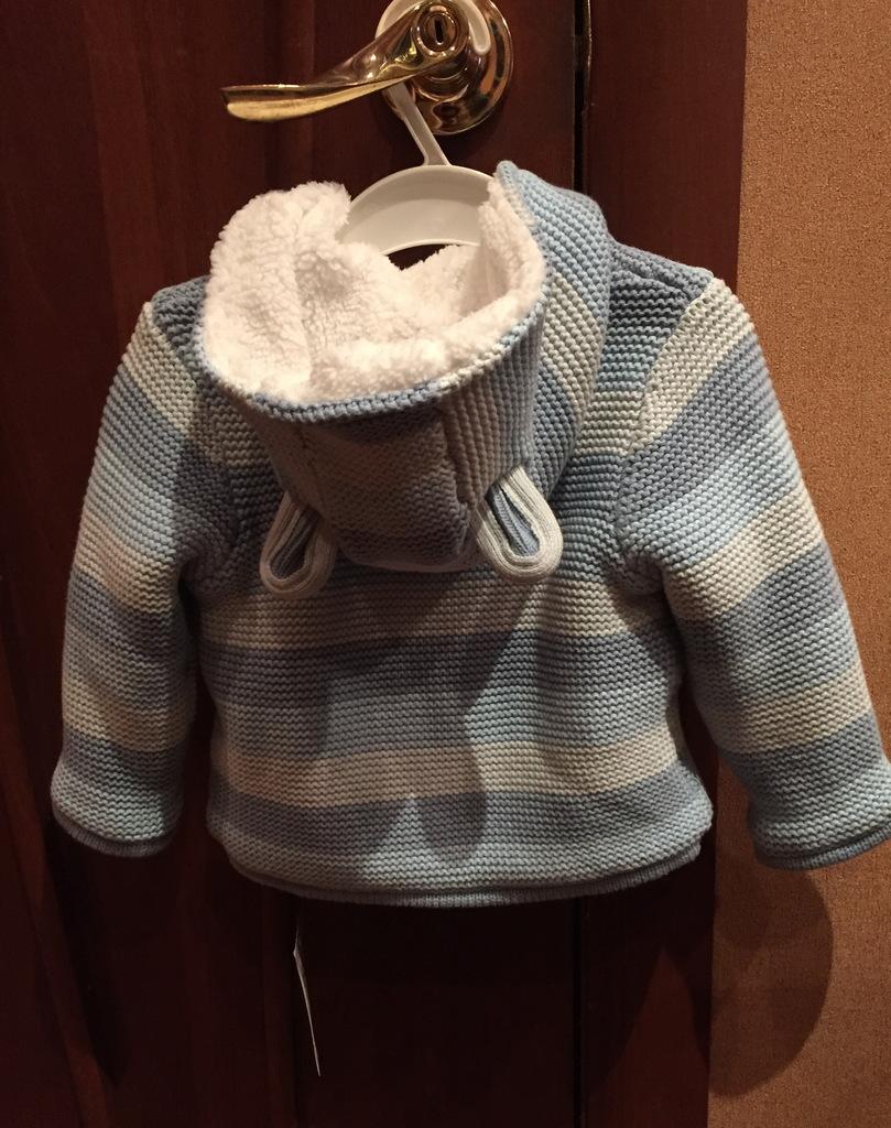 Кардиган Mothercare, новый, теплый