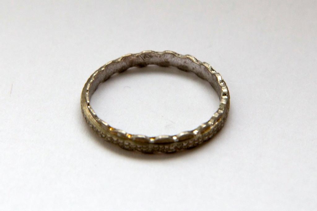 Серебряное кольцо для эльфа