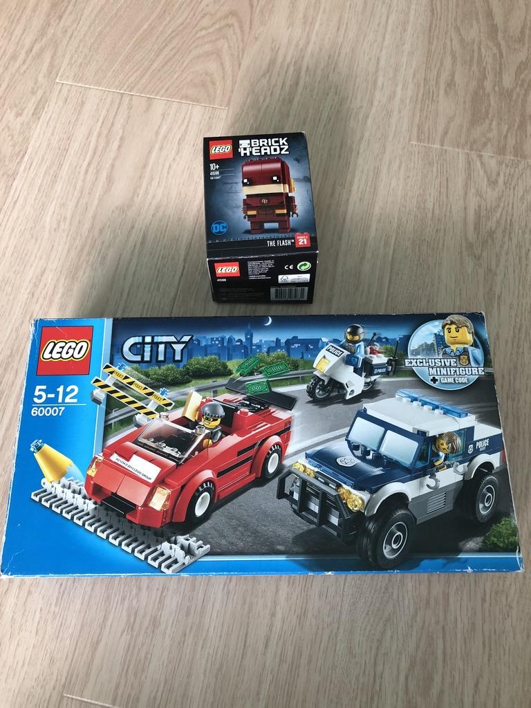Конструктор Lego City и  Lego BrickHeadz