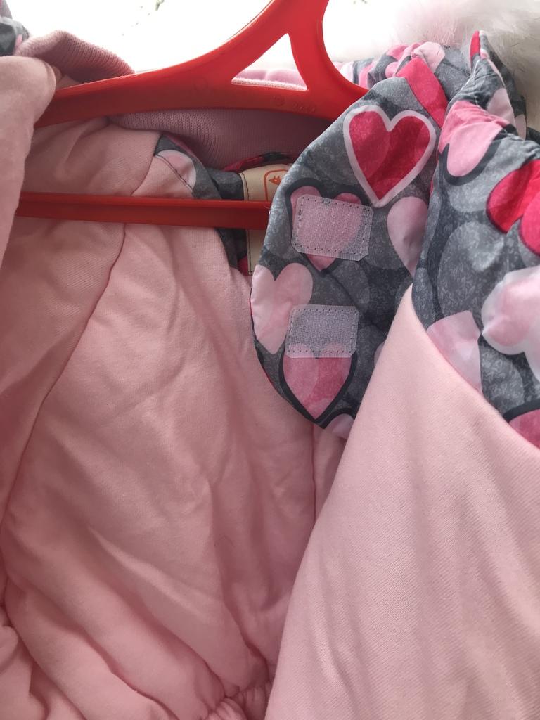 Зимний комбинезон для девочки 92 размер