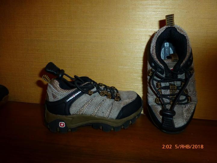 Кроссовки Swiss Gear на 2-3года, с нат.замшей