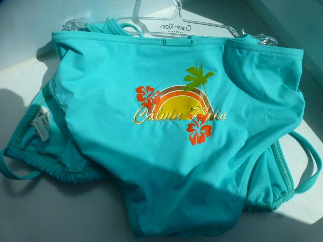купальник с бикини Calvin Klein, раздельный, р.М+S