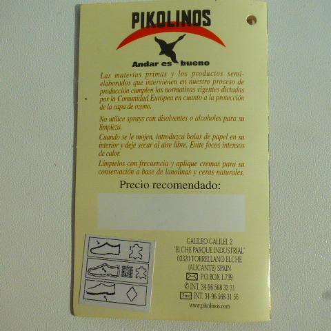туфли Pikolinos (Испания), нат.кожа, р.40-40.5