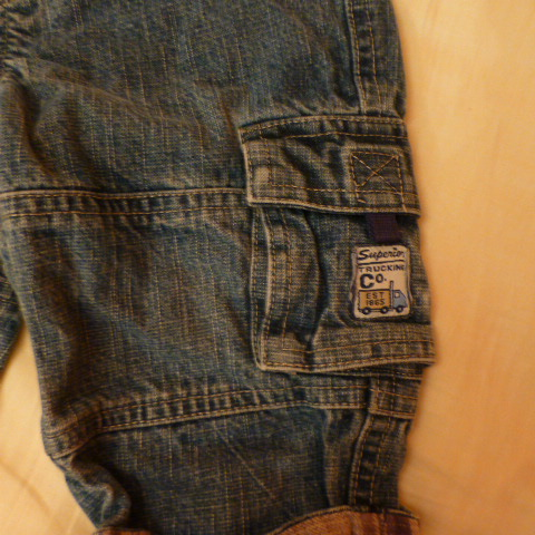 джинсовые брюки Little Legends на 12мес.