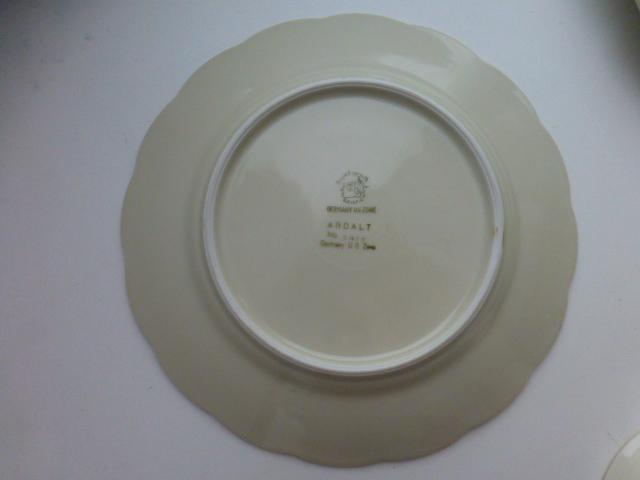 десертный набор Royal Bayreuth \ Ardalt кремовый