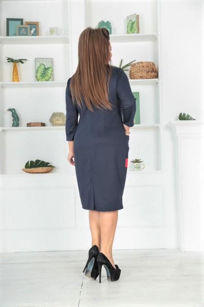 📍Женское платье Жаннетт 💃темно-синее