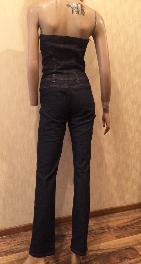 Роскошный джинсовый комбинезон бюстье JLo by Jennifer LOPEZ