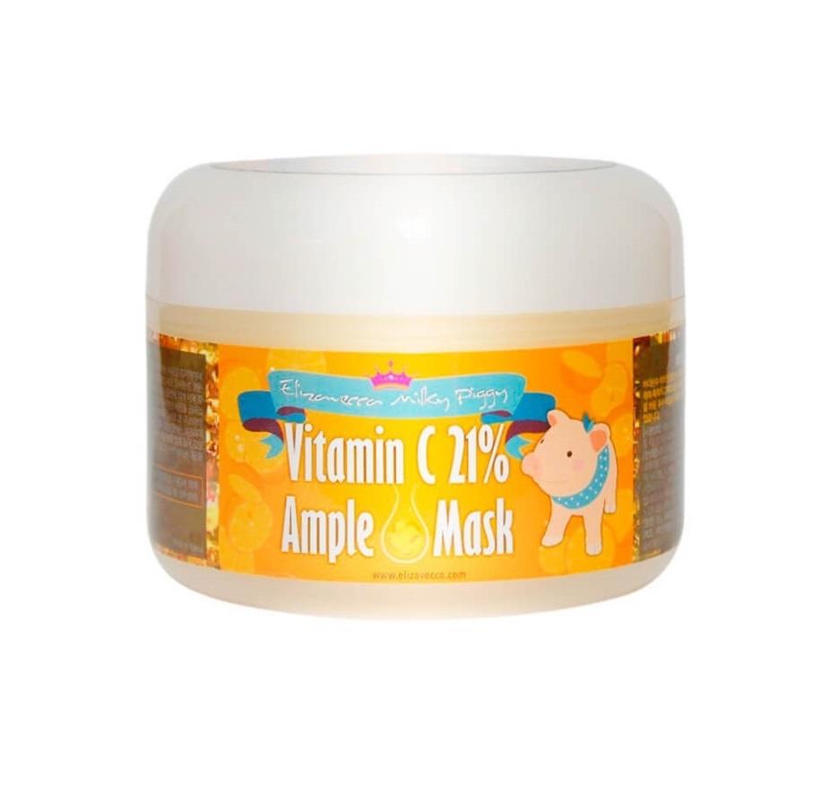 Осветляющая витаминная маска Elizavecca Milky Pigg