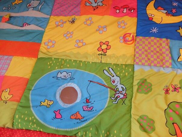 Развивающий коврик Taf Toys 2 в 1