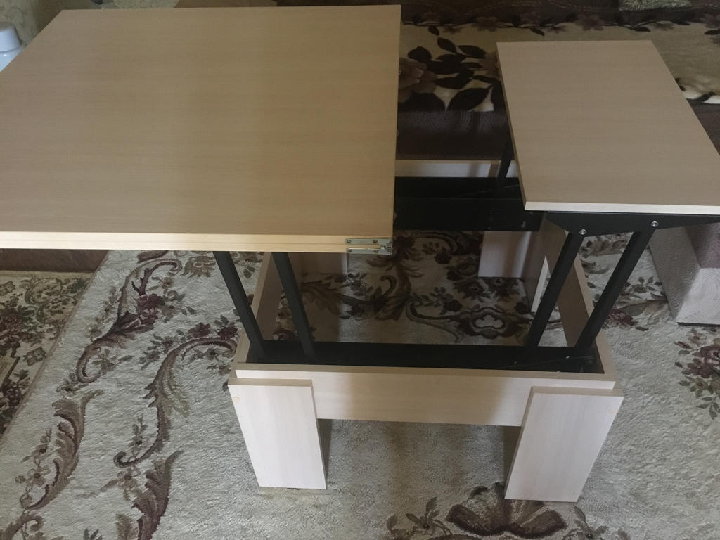 журнальный стол трансформер