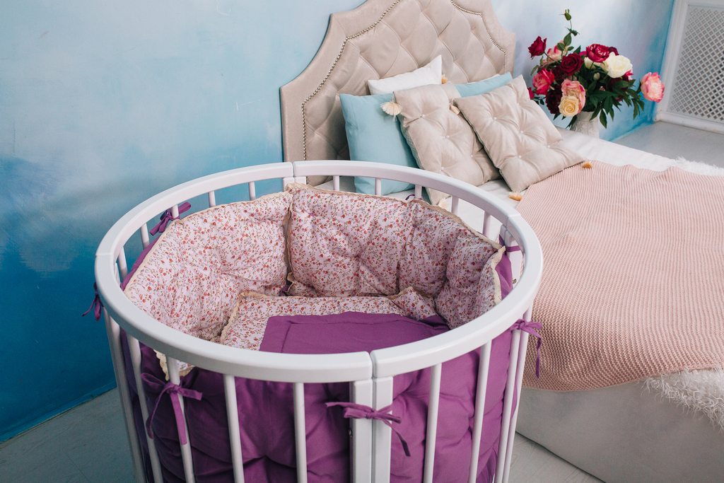 круглая кроватка 6в1