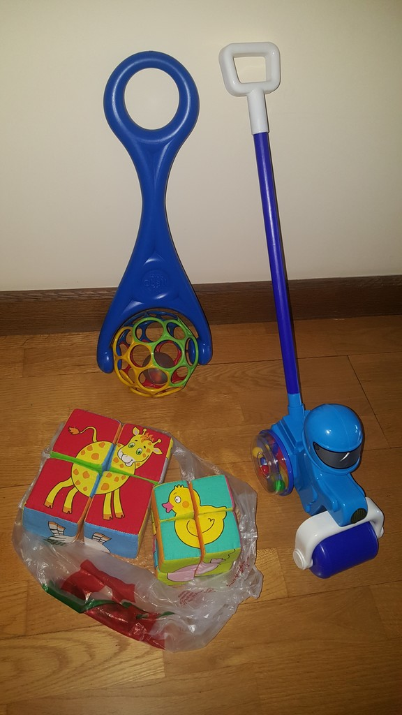 Коляска-трость Babyhit Rainbow + игрушки