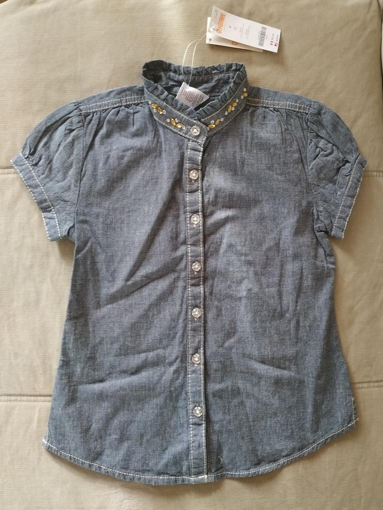 Блузка Gymboree р.8 (на 7-8 лет, новая)