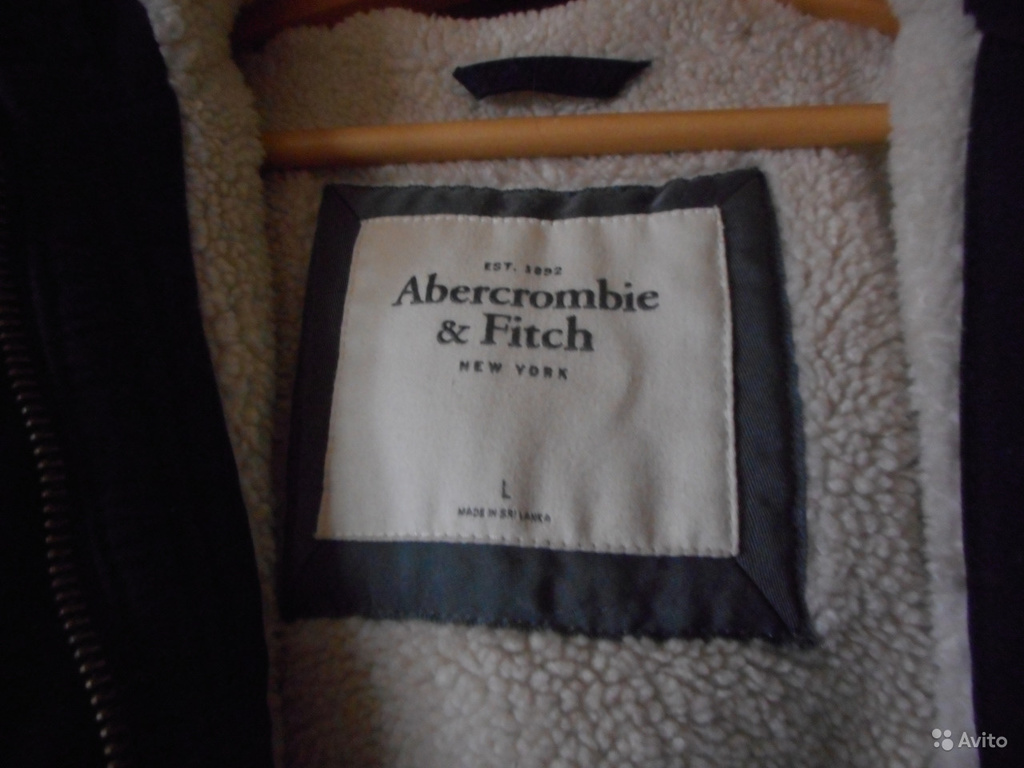 Abercrombie & Fitch Sherpa Lined Military Parka