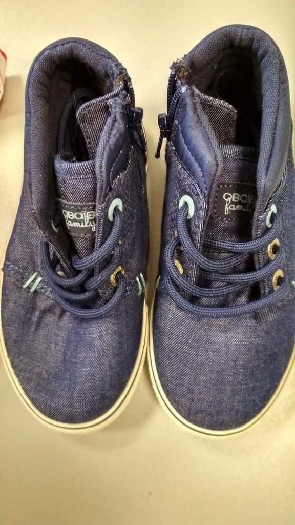 Кеды на шнуровке