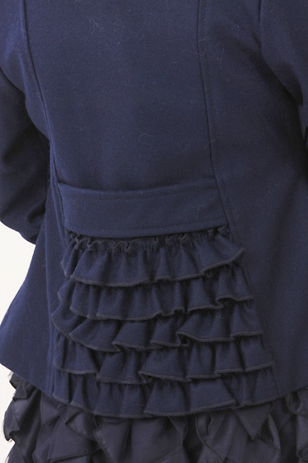 Kate Mack новый шерстяной тренч размер 6лет