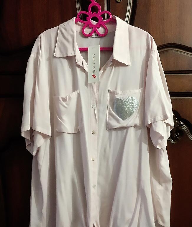 Модная рубашка Gayman Lu Di Ni Турция размер 54-56