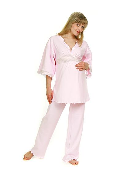 Пижама для беременных и кормящих мам новая