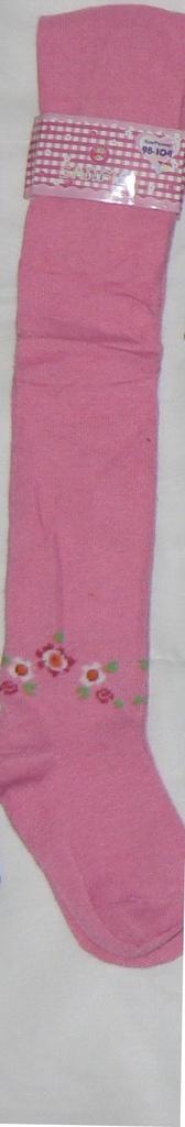 Колготки новые для девочек р.98/104 (2шт) розовые