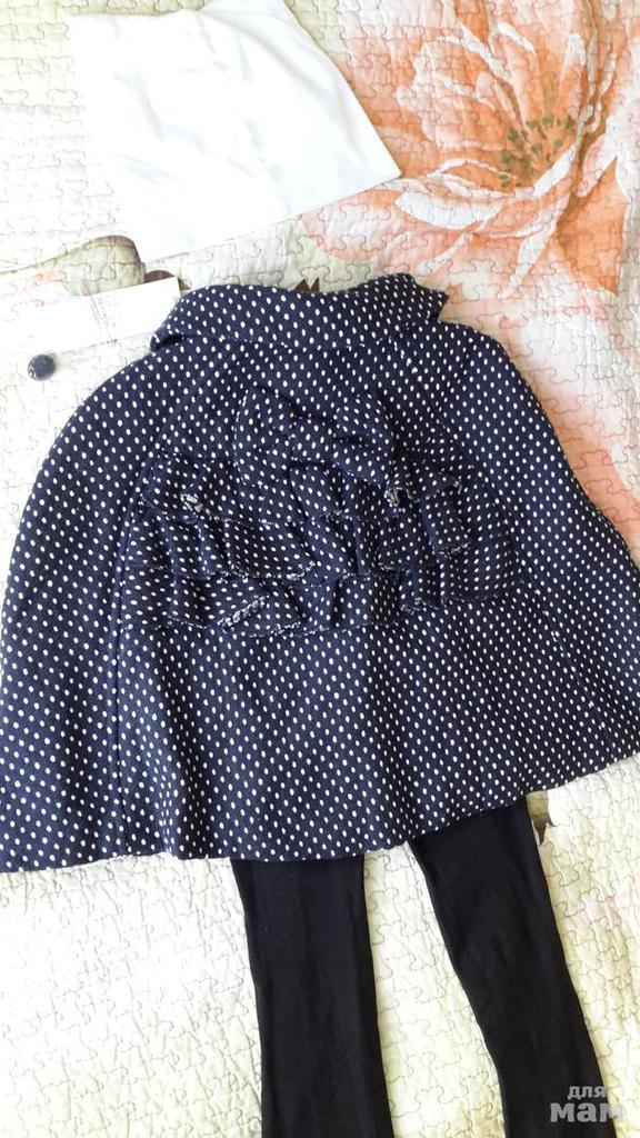 Новое пальто/пончо (на 2-4 года)