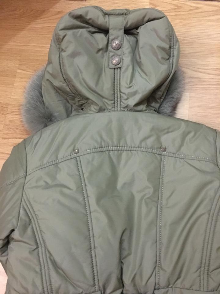 Зимнее пальто Шалуны р. 140