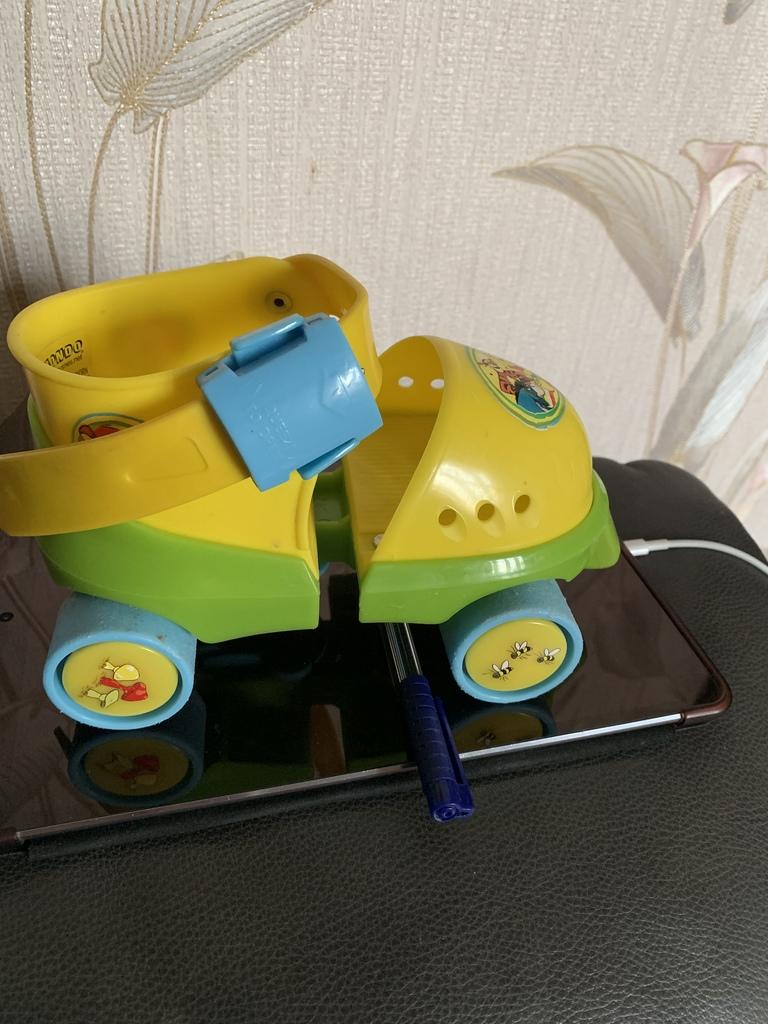 Коньки роликовые Winnie Pooh