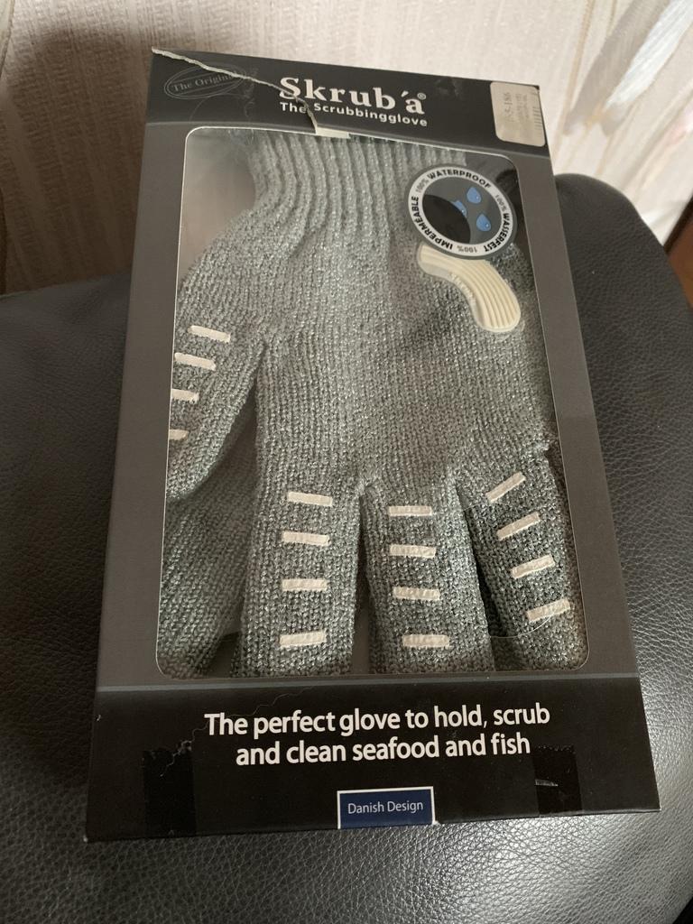 Перчатки для разделки рыбы