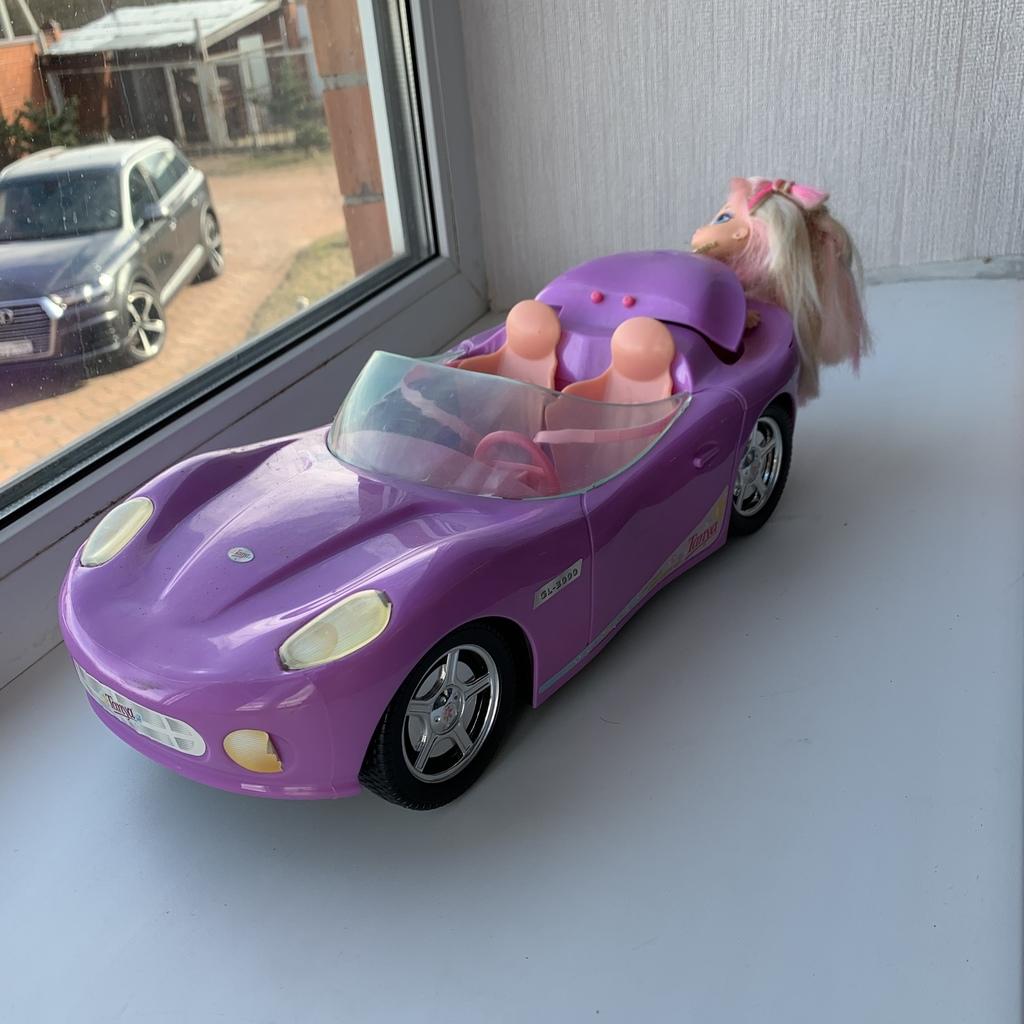 Кабриолет для куклы