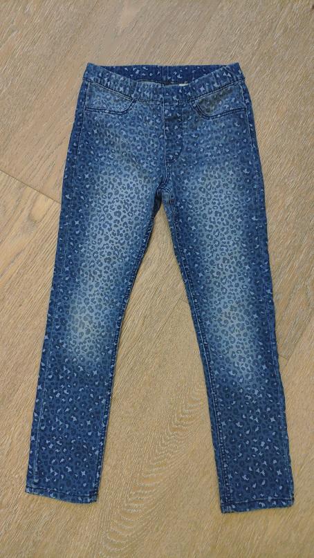 H&M джинсы, б/у, 6-7лет