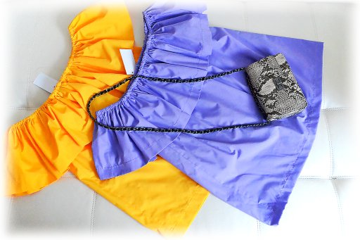 Блузки с воланами