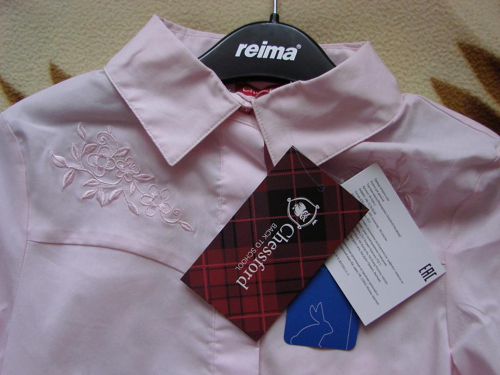 Новая школьная блузка Chessford, р.134-140