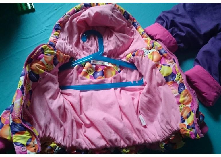 Комплект куртка и полукомбез Bolichin 86 размер.