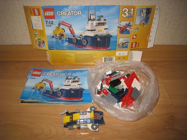 LEGO Creator Морская экспедиция (31045)
