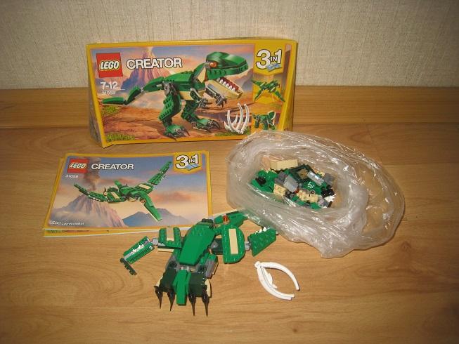 LEGO Creator Грозный динозавр (31058)