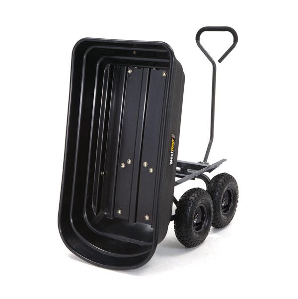 Садовая тележка (тачка) на четырех колесах Westman