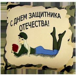 подушка как подарок на 23 февраля