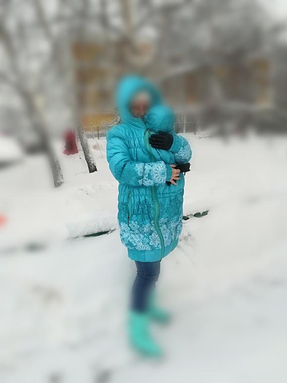 Слингокуртка зимняя 3 в 1