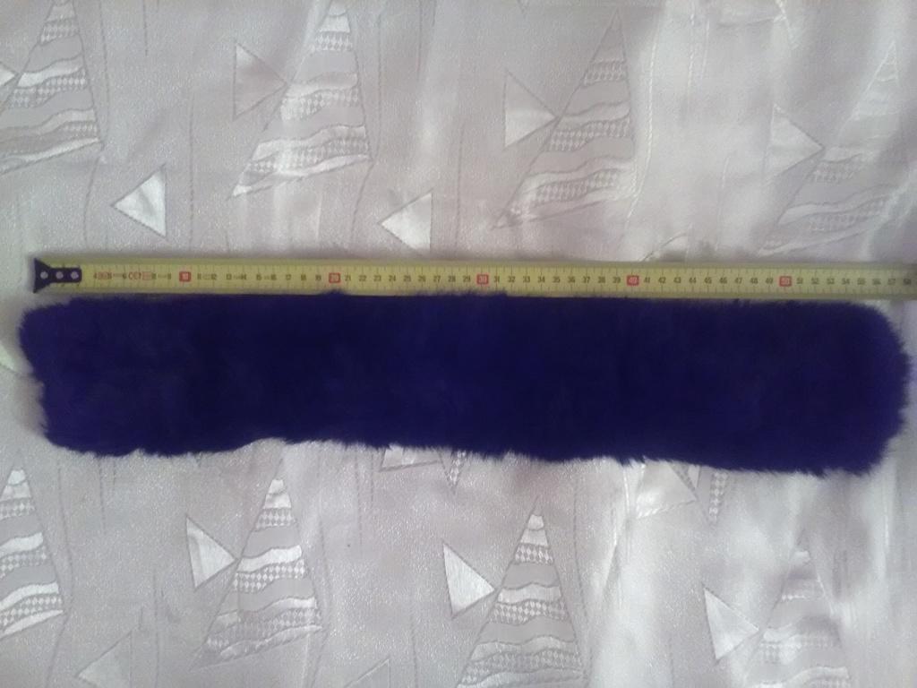 Шапка боярочка, натуральный мех, р.55 + воротник