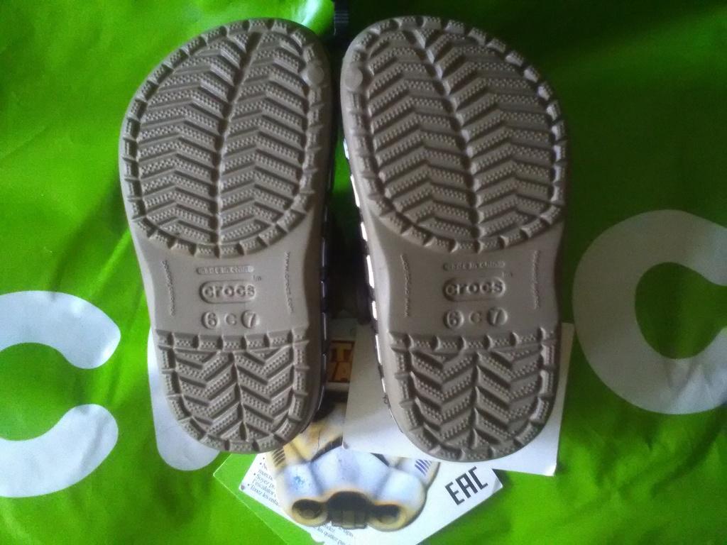 Новые меховые сабо Crocs, оригинал