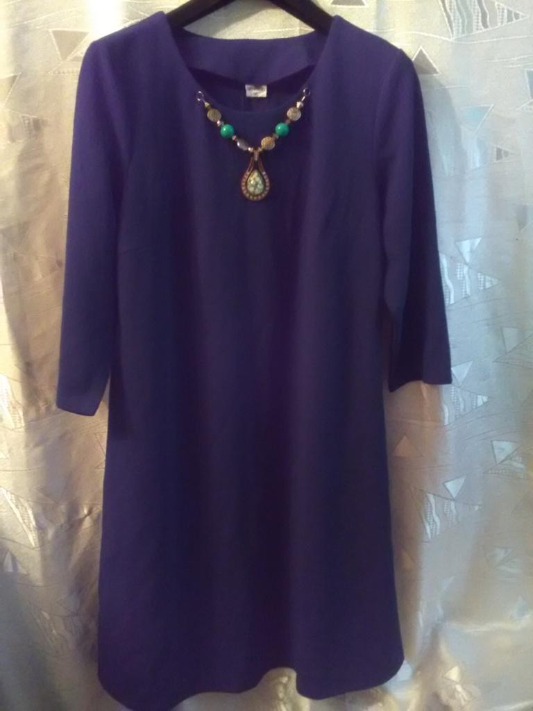 Новое платье  Леди Модерн (LM), цвет темная бирюза