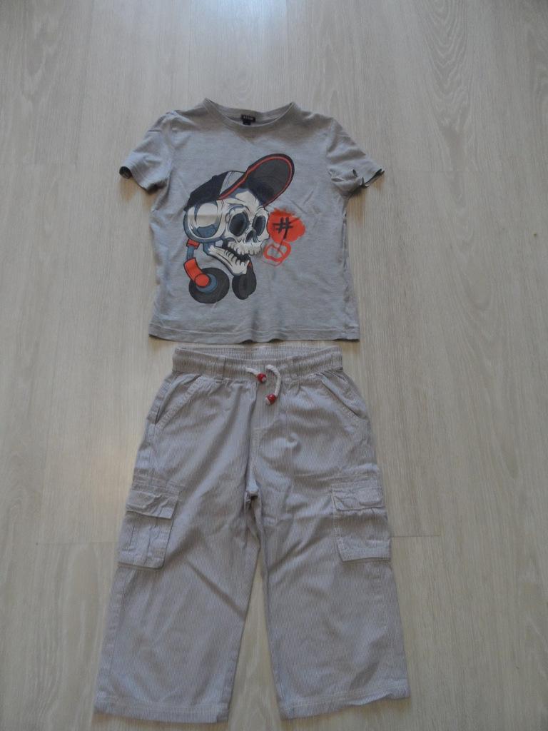Комплекты фирменных футболок и шорт на 5-8 лет б/у