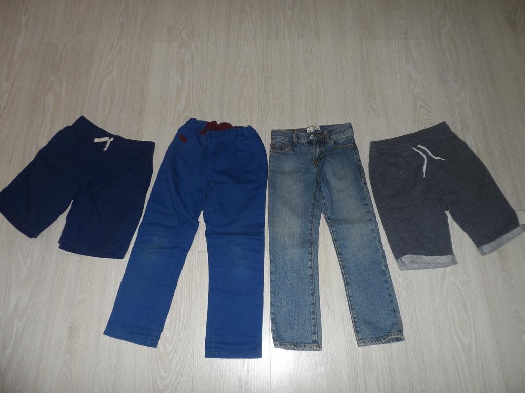 Фирм. мало б/у джинсы,штаны,шорты,поло Америка 4-6
