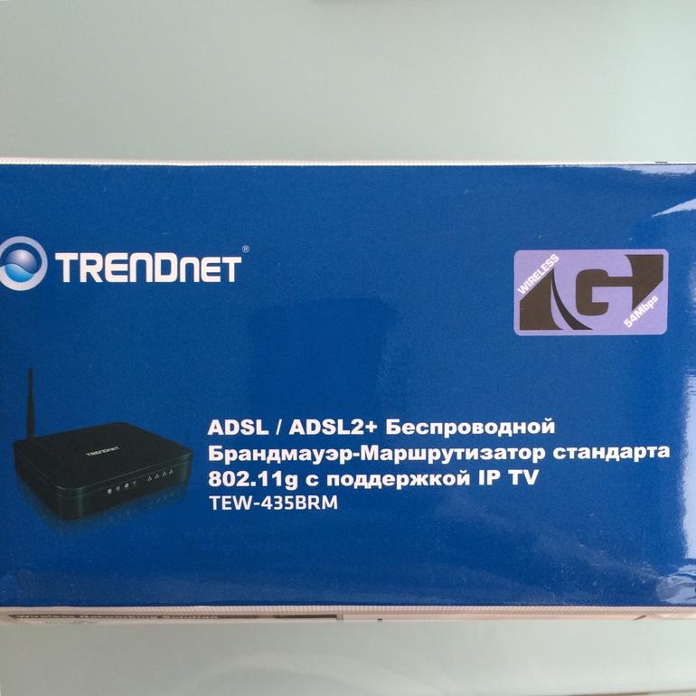 Новый wi-fi роутер TRENDnet TEW-435BRM в идеале!