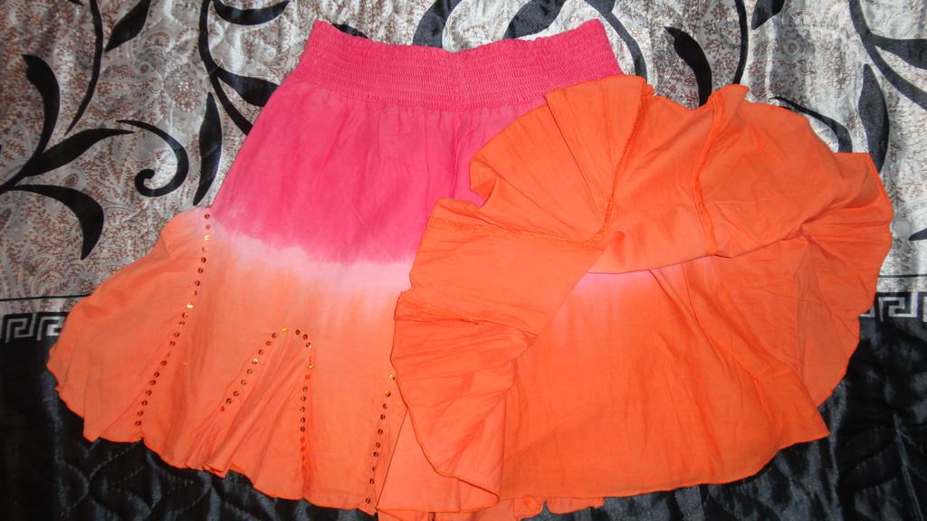 Новая юбка Matalan 8-9л. для лета!!!!