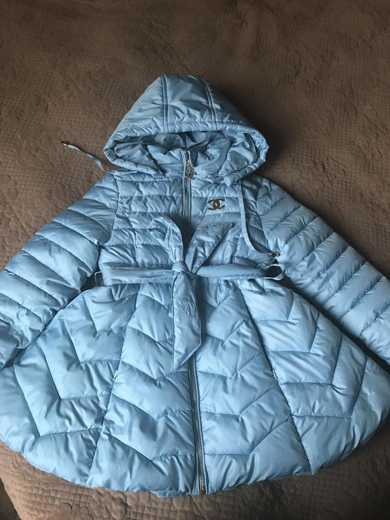 Пальто на рост 116-122