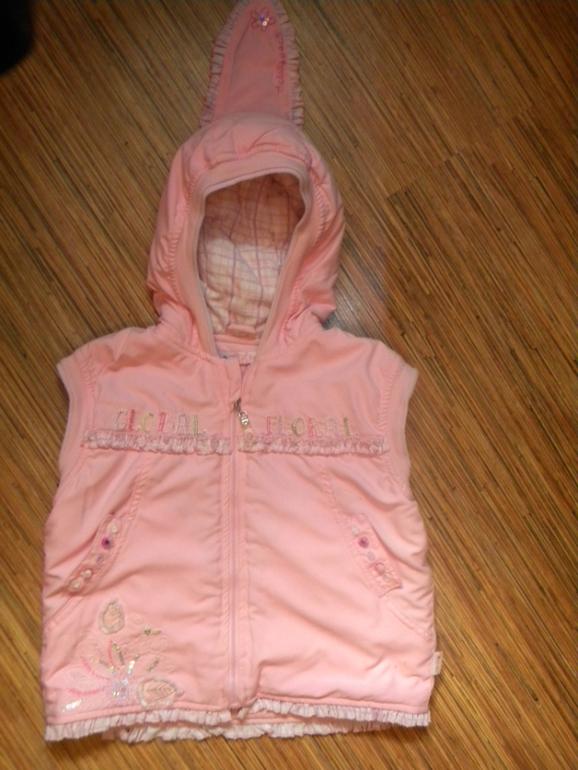 Жилет утеплённый aziz bebe, 2 года
