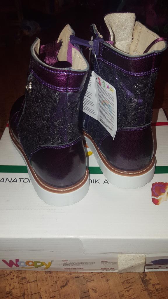 Ботинки Woopy, размер 30(20см), новые