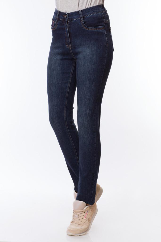 Зауженные синие джинсы арт. SK71828-4002-2