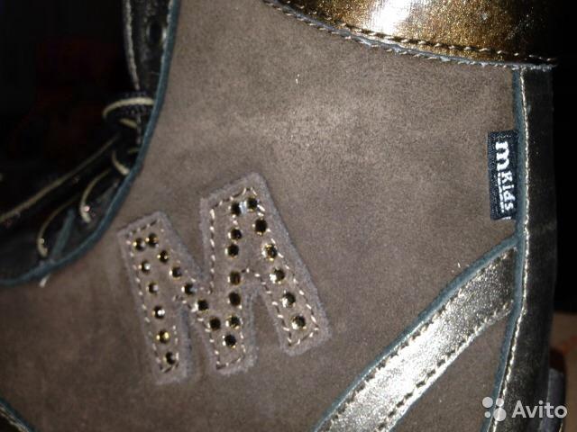 Ботинки утепленные MKids 27p Италия